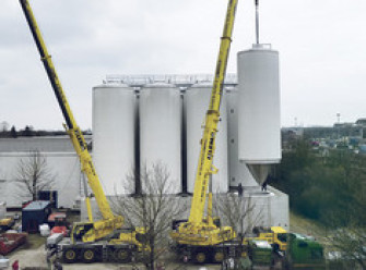 Eight New Tanks at Munich Brewery image